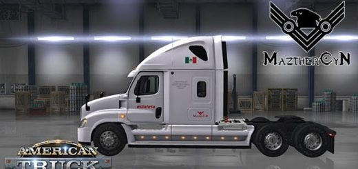 freightliner_cadia_mexico_skin