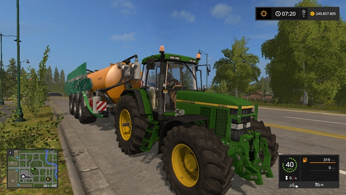 John Deere Side By Side >> FS17 – John Deere 7810 Full Edition – Simulator Games Mods ...