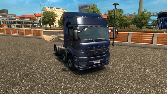 ETS 2 - Mitsubishi Fuso Truck | Simulator Games Mods Download