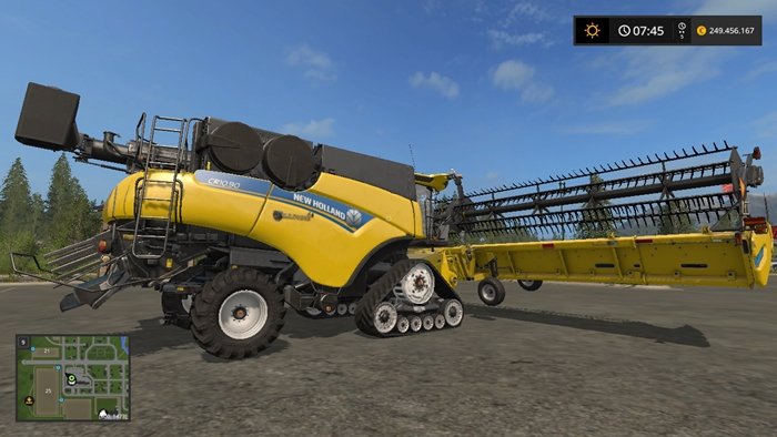 newholland-harvester-cr1090