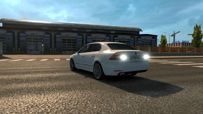 ets 2 skoda superb rs car mod simulator games mods download Driving Test Games Manual Driving Simulator Xbox 1