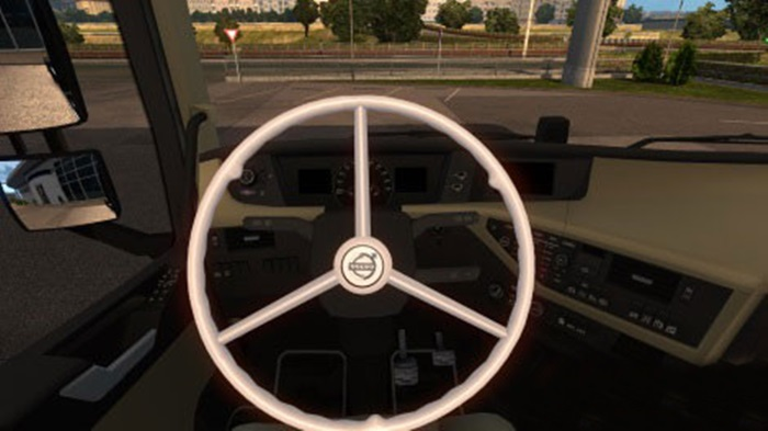 Volvo Truck Center >> ETS 2 – Volvo FH 2012 Steering Wheel Mod – Simulator Games Mods Download