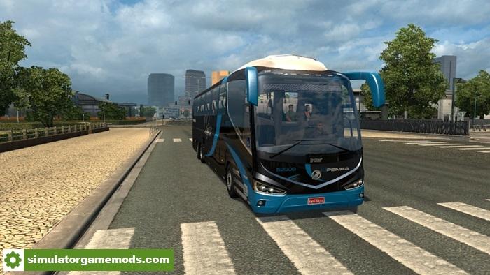 ets 2 irizar i8 bus mod simulator games mods download