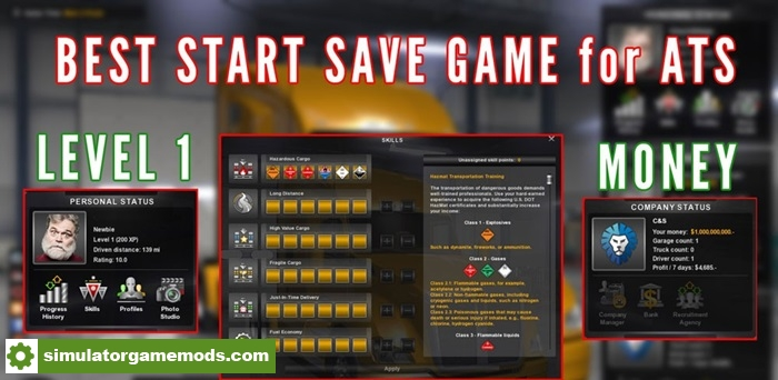 best_start_savegame