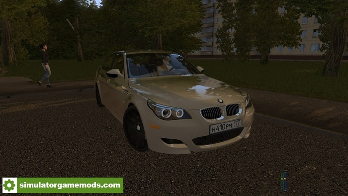 City Car Driving 1 5 2 Bmw M5 E60 Car Mod Simulator