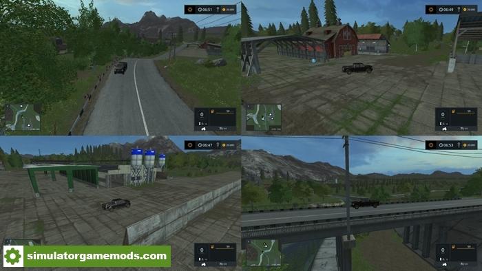 FS17 Canadian National Map V 10 Simulator Games Mods Download