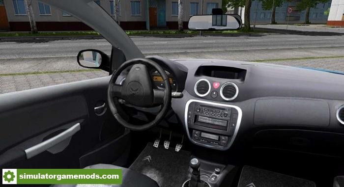 Mods City Car Driving Citroen C