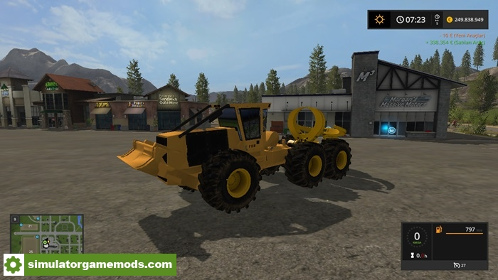 Simulator Car Games >> FS17 – Clambunk Skidder V1 – Simulator Games Mods Download
