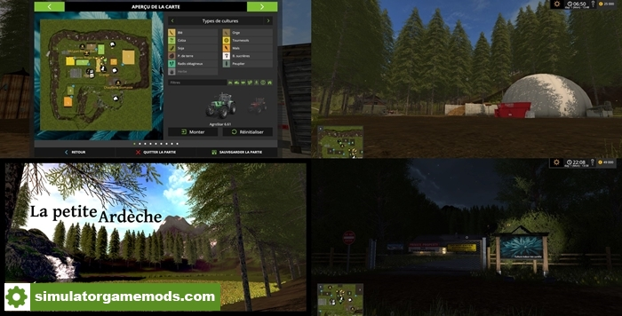 Car Driving Games >> FS17 – La petite Ardèche Map V1.2 Beta – Simulator Games Mods Download