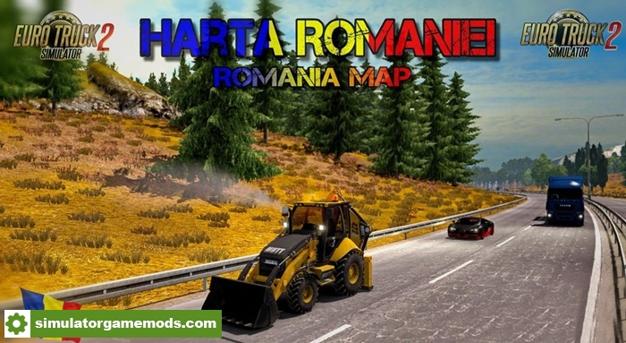 Ets 2 Harta Romaniei Map V8 8 Simulator Games Mods Download