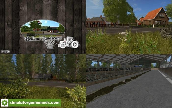 Car Simulator Games >> FS17 - Holland Landscape Map V1.02 | Simulator Games Mods Download