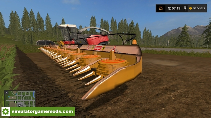 Car Driving Games >> FS17 Kemper 2020 Header V1 – Simulator Games Mods Download