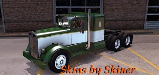 kenworth_521_green_white_skin