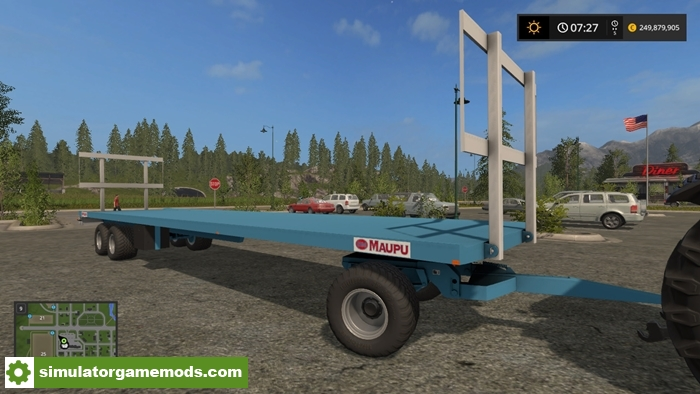 Fs17 Maupu Pm 1180200 Bale Trailer V 1 0 on city dump trailers
