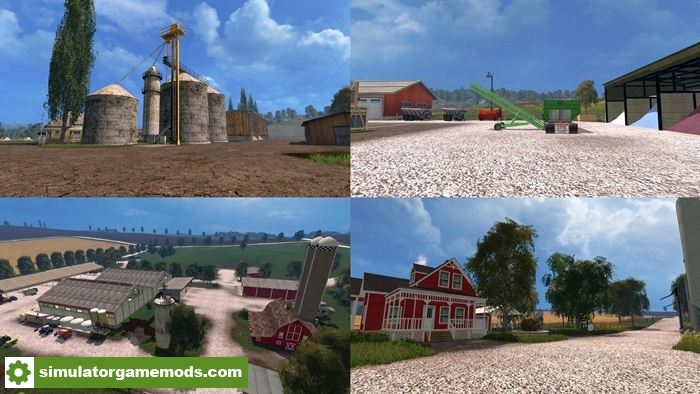 FS Midtown Usa Map V Simulator Games Mods Download - Fs 17 us map