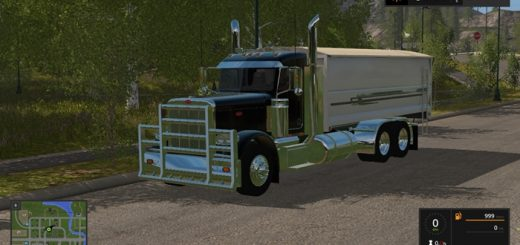 peterbilt389graintruck