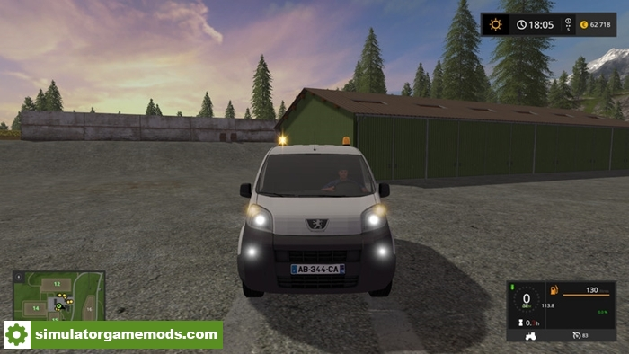 fs17 peugeot bipper v1 2 simulator games mods download. Black Bedroom Furniture Sets. Home Design Ideas