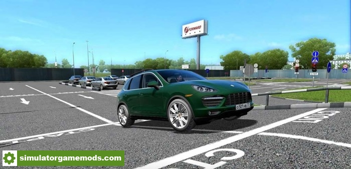 City Car Driving 1 5 2 Porsche Cayenne Car Mod Simulator Games Mods Download