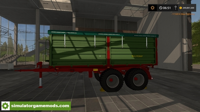 pronart683trailer-fs17