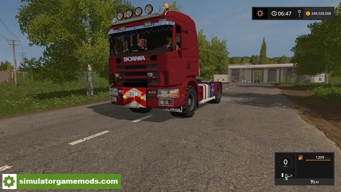 fs17 scania 144lagrar truck v 1 0 simulator games mods