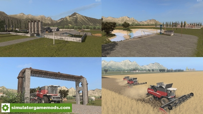 FS US Hill Map V Simulator Games Mods Download - Us map mod fs 17