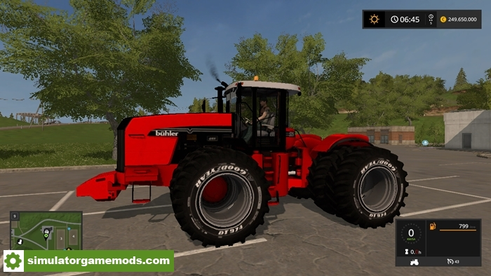 FS17 – Versatile 535 Tractor V1 – Simulator Games Mods Download