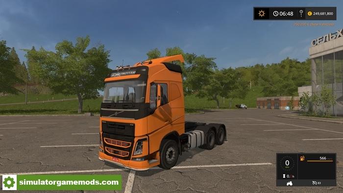 FS17 – Volvo FH 540 Multicolor Truck V2.0 – Simulator Games Mods Download