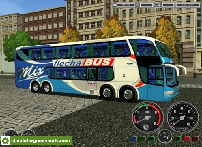18 wos haulin marcopolo doble decker 8 2 bus simulator. Black Bedroom Furniture Sets. Home Design Ideas
