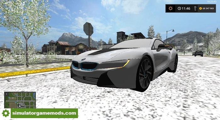 Fs17 Bmw I8 Car Mod Simulator Games Mods Download