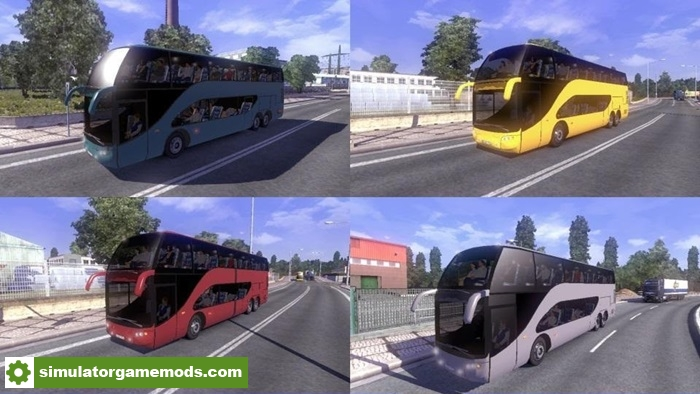 ETS 2 - Ayats Bravo All Traffic Mod V 1 1 | Simulator Games
