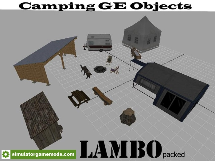 Fs17 camping ge objects v 1 0 simulator games mods for Design your own house simulator
