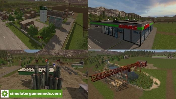 FS17 Canadian Agriculture map V 120 Simulator Games Mods