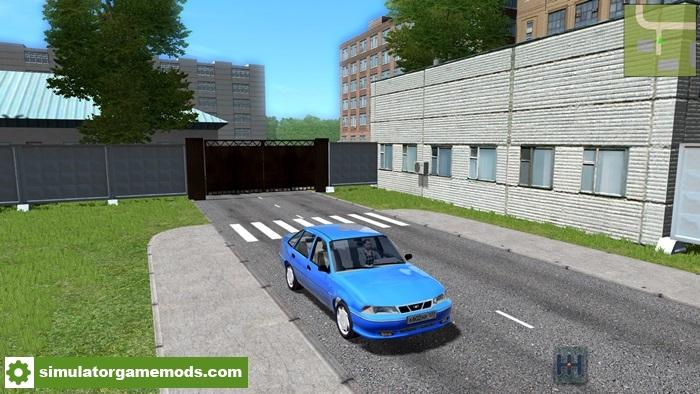 City Car Driving 1.5.2 – Daewoo Nexia N100 Car Mod – Simulator