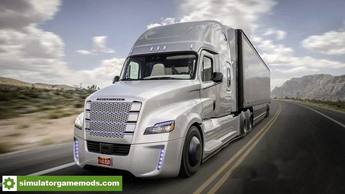 ETS 2 - Freightliner Cascadia 2018 Realistic Engine | Simulator