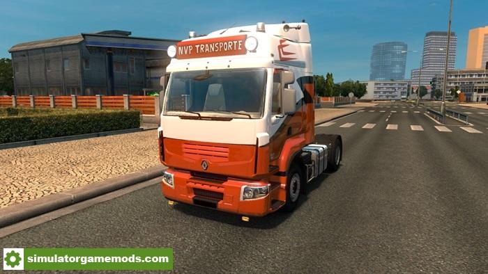 ets 2 renault premium truck simulator games mods download. Black Bedroom Furniture Sets. Home Design Ideas