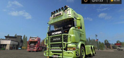 scania_v8_old_schol_truck