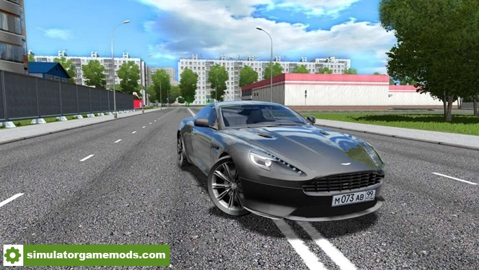 City Car Driving 1.5.2 U2013 Aston Martin Virage Car Mod