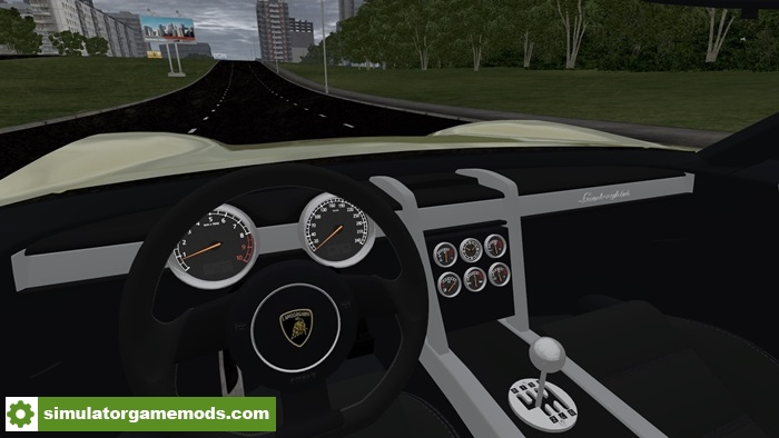 city car driving 1 5 1 lamborghini miura concept car mod simulator games mods download. Black Bedroom Furniture Sets. Home Design Ideas