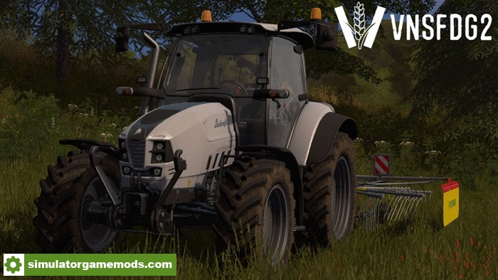 Fs17 Lamborghini Nitro 100 T4ivrt Tractor V1 0 Simulator Games