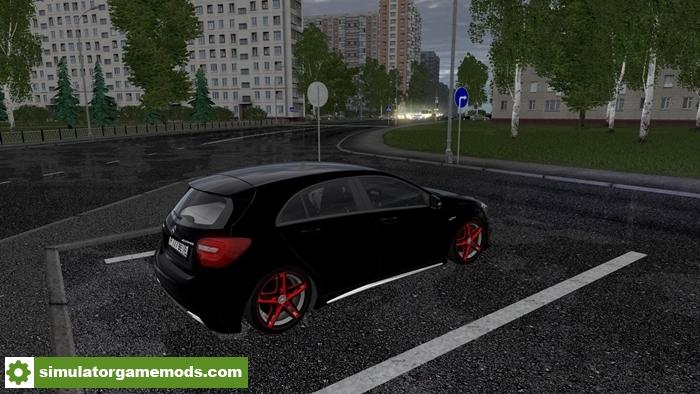 City car driving 1 5 3 mercedes benz a45 car mod for Mercedes benz car racing games