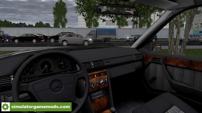 City car driving 1 5 x mercedes benz e320 car mod for Mercedes benz car racing games
