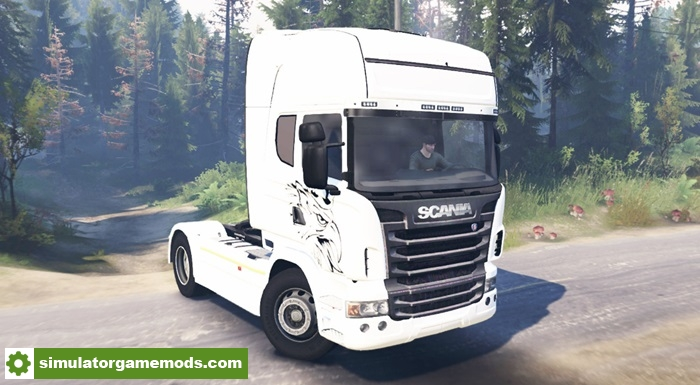 Spintires Scania R730 2009 4x4 Truck Simulator Games