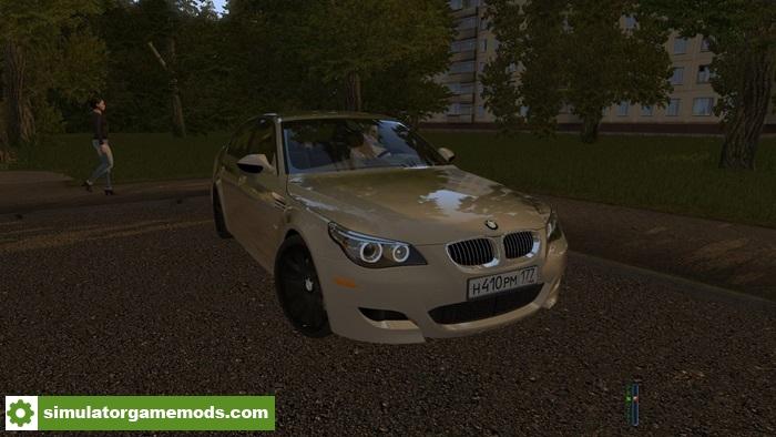City Car Driving 1 5 2 Bmw M5 E60 Car Mod Simulator Games Mods