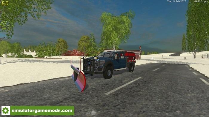 FS15 - 2011 Ford F550 Flatbed V1 0 | Simulator Games Mods