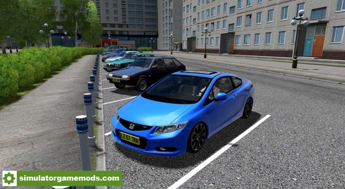 770 Civic Car Games Gratis Terbaik