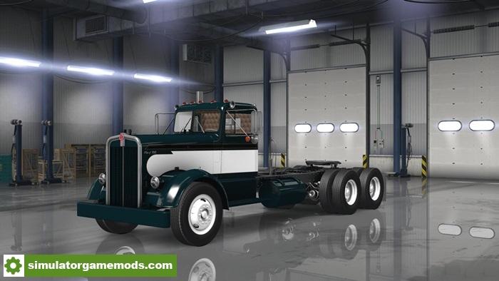 Car Simulator Games >> ATS - Kenworth 521 Classic Skin | Simulator Games Mods ...