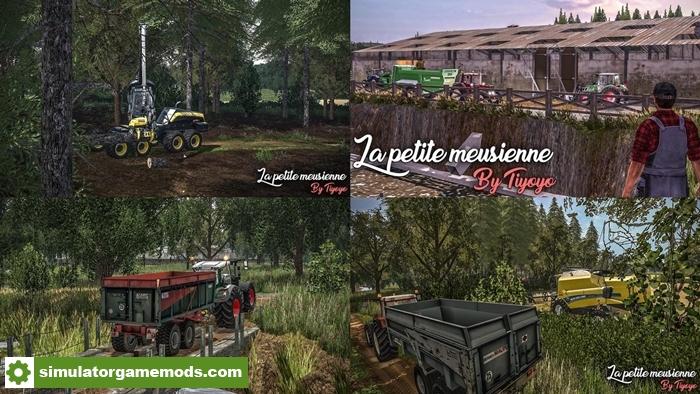 fs17 la petite meusienne farm map v1 simulator games mods download. Black Bedroom Furniture Sets. Home Design Ideas