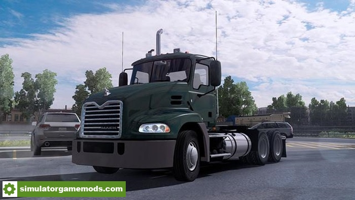 Ats mack pinnacle truck simulator games mods download for Troy motor mall gmc
