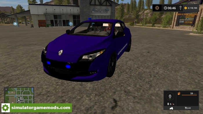 fs17 renault megane rs car v1 beta simulator games mods download. Black Bedroom Furniture Sets. Home Design Ideas