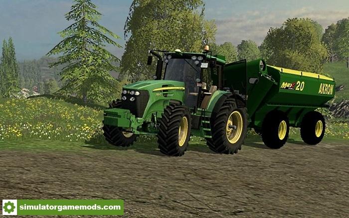 fs17 tolva akron max v1 simulator games mods download